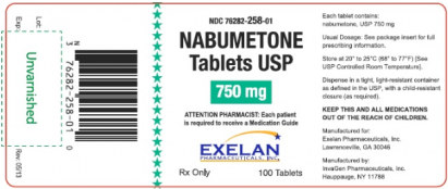 Relafen (Nabumetone): Side Effects, Interactions, Warning, Dosage