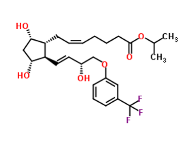 Travoprost IUPAC name, molecular formula, weight, structure and drug class
