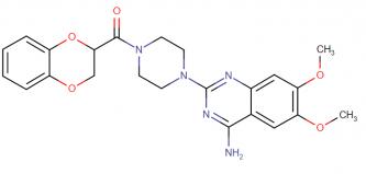 Doxazosin description, IUPAC name, molecular formula, weight, structure and drug class
