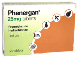 Phenergan, Phenadoz (promethazine) dosing, indications