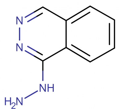 The molecular structure of hydralazine