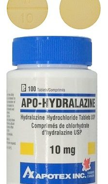 Hydralazine - Drug class, uses, dosage and side effects