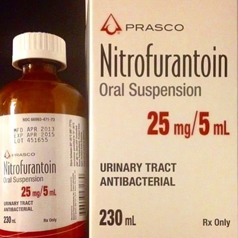 Is it safe to take nitrofurantoin?