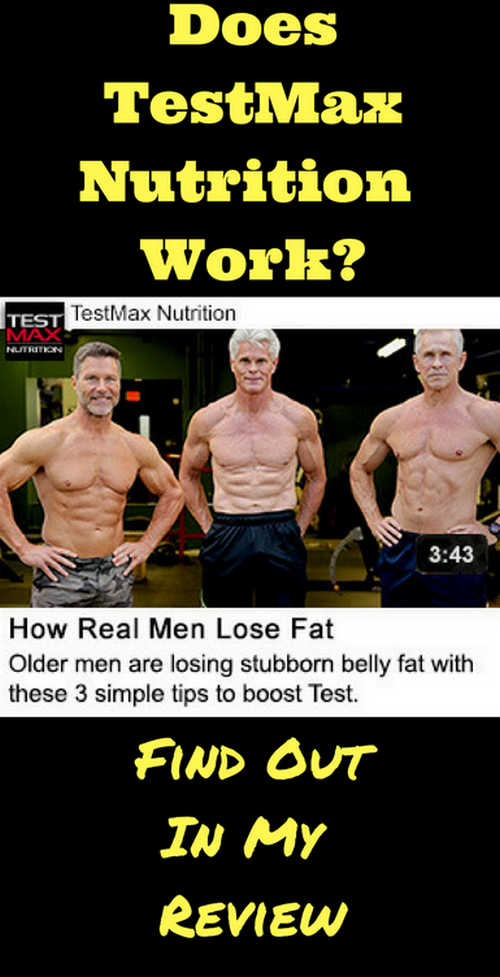 Testmax is designed to help men (older men) improve the level of testosterone in the body image photo picture