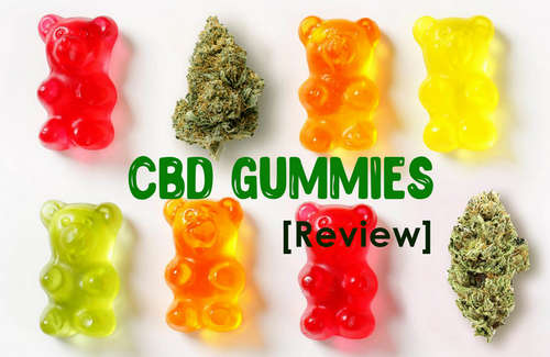 CBD gummies are available in different shapes, colors, and sizes image photo picture