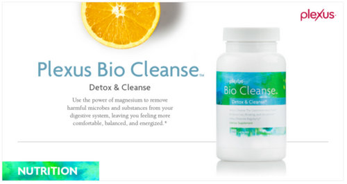 Plexus Bio Cleanse cleanses the gut and detoxes the body image photo picture